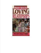 hidden keys to loving relationships 5 gary smalley vhs best friends new
