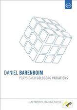 Daniel Barenboim Plays Bach Goldberg, New DVDs