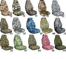 2005- 2008 TOYOTA TACOMA sr5 CAR SEAT COVERS CAMO bucket seats