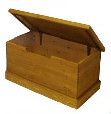 Personalised Childs Solid Pine Toy Box (Medium) - MADE IN THE UK