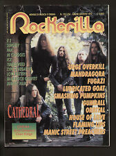 ROCKERILLA 155-156/93 GRUNGE HARD ROCK CATHEDRAL FUGAZI DORIAN GRAY MANDRAGORA