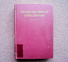 Life & Times of David Lipscomb ~ Earl West ~ Church of Christ 1954 1st Edition