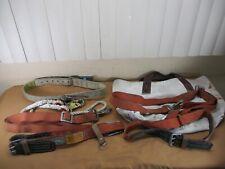 3 Klein Lineman Climbing Belt Belts 5444lb Dbisala Size Medium With Carry Bag