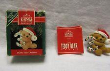 Hallmark Keepsake Christmas Ornament Child`S Third Christmas 1989 Mib