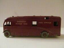 Dinky/Meccano Supertoys - Horse Box - Express Horse Van - Light Wear - Loose