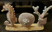 December Diamonds Joy Seashells Seahorses Coral Christmas Holiday Sign