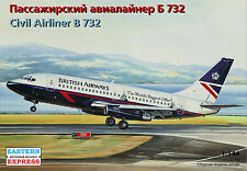 Eastern Express 1/144  Airliner Boeing 737-200 British  14469