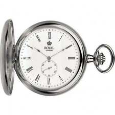 Royal London Stainless Steel Quartz (Battery) Pocket Watches