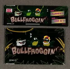 Spielo Aura Slot Machine Set of Glass for BULL FROGGIN'