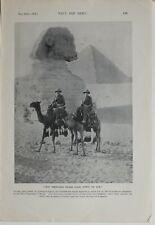 1915 WW1 Aufdruck Australasian Troops Ägypten Pyramiden Heilig Pilgrimage Sich
