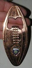 Old Figural Football Shaped Nebraska Beer or Pop Bottle Opener Cornhuskers