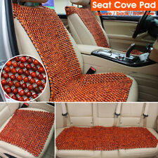 Natural Wood Beads Wooden Car Auto Seat Cover Cushion Pad Cool Breathable