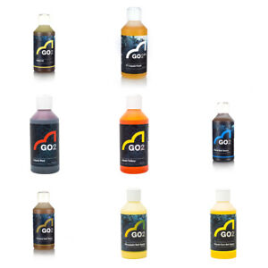SPOTTED FIN - GO2 BAIT SAUCES /  LIQUID FOODS / DYES - FULL RANGE AVAILABLE
