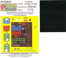 Model Maker 1/72 JUNKERS Ju-88C-6 Z/N Paint Mask Set for Revell Kit