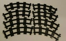 Lego Train City 8 RC Curved Tracks Black 3677/7939/60052/60051/7895