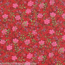 MODA Fabric ~ THE MORRIS JEWELS ~ by Barbara Brackman (8141 33) - by 1/2 yard