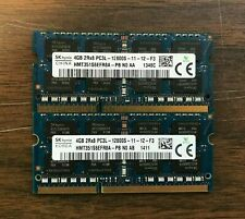 8GB Kit 2x4GB 1333Mhz PC3-12800s DDR3 SO-DIMM 204-Pin Ram Memory LAPTOP