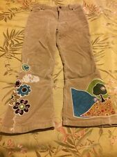 Childrens Place Tan embellished corduroy pants..so cute...size 6..