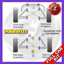 Opel VX220 (Opel Speedster) Powerflex Complete Bush Kit