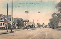 Hand Colored Postcard Fruitvale Avenue in Fruitvale, California~126526