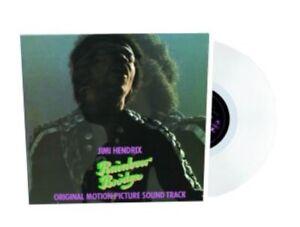 JIMI HENDRIX - RAINBOW BRIDGE - WHITE BLANC VINYL LP - LIMITED EDITION 2019