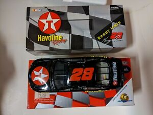 1998  #28 KENNY IRWIN TEXACO HAVOLINE FORD ACTION 1:24 Clear BANK FREE SHIPPING
