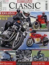 Motorrad Classic 4/05 2005 Brough Superior SS 1000 BSA Rocket 3 Münch-4 TTS-E