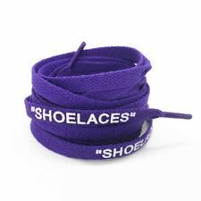 "Schnürsenkel ""SHOELACES"" purple lila – Flats 130 cm OFF WHITE Max 90 97 Jordan"