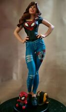 Spiderman MARY JANE 1/5 scale Custom statue Rare + Sideshow Book