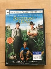 Secondhand Lions (DVD, 2004, Platinum Series)