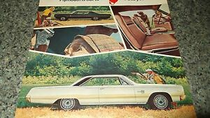 ★★1967 PLYMOUTH SPORT FURY VINTAGE AD 67 MOPAR PHOTO 440 SUPER COMMANDO★★