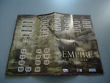 Empire Total War Double Sided Folded Poster