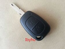 Renault Trafic Vivaro Primastar Master Kangoo 2 Button Remote Key Fob Case&Blade