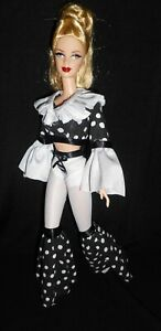 Madonna 1990s celebrity repaint ooak barbie doll by The Gawdy Goblin