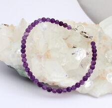 Amethyst Armband edelsteinarmband facettierte Kugel Schmuck ca.lila ca.20 mm neu