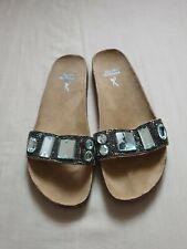 BELLE & MIMI Beautiful Summer Flip Flops Sandals/Mules Size UK 7 By Barrats