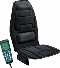 Massage Seat Cushion with Heat New 10 Motor Black Comfort Products FREE SHIPPING
