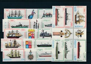 [G41925] Italy Boats Good lot Very Fine MNH stamps
