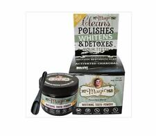 2 x 30g MY MAGIC MUD Whitening Tooth Powder -  with Activated Charcoal