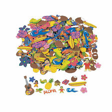 Fabulous Foam Self-Adhesive Luau Shapes - Craft Supplies - 500 Pieces
