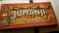 Jumanji Board Game 1995 Milton Bradley Complete