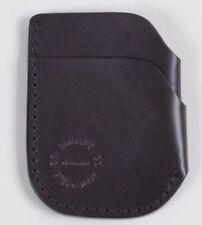 FILSON Front Pocket Cash & Card Case Brown Bridle Leather Wallet 70422