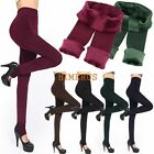 Ladies Women Fleece Lined Leggings Thick Warm Winter Stretch Pants Size S-XL