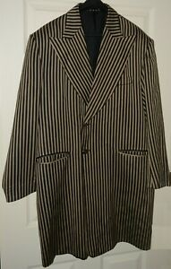 Black & Brown Pin Stripe Zoot Suit