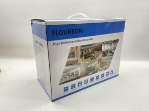 FLOUREON House Security Camera System 1080N DVR + 4 Pack 1.0MP CMOS  (CMP048485)