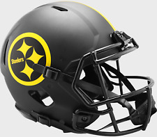 Pittsburgh Steelers Nfl Riddell Speed Authentic Football Helmet Eclipse