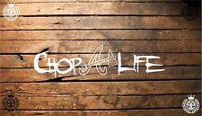 Chop Life Atlanta Braves 7'' vinyl car sticker decal