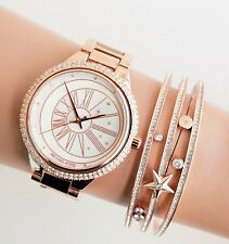 Original Michael Kors Uhr Damenuhr MK6551 Taryn Crystal  Farbe: Rose Gold NEU!