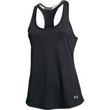 Abbigliamento sportivo da donna neri senza maniche taglia XL