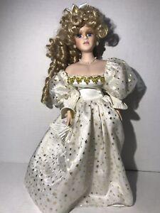 2-Porcelain Dolls For Repair parts Legs Hair Curly Vintage